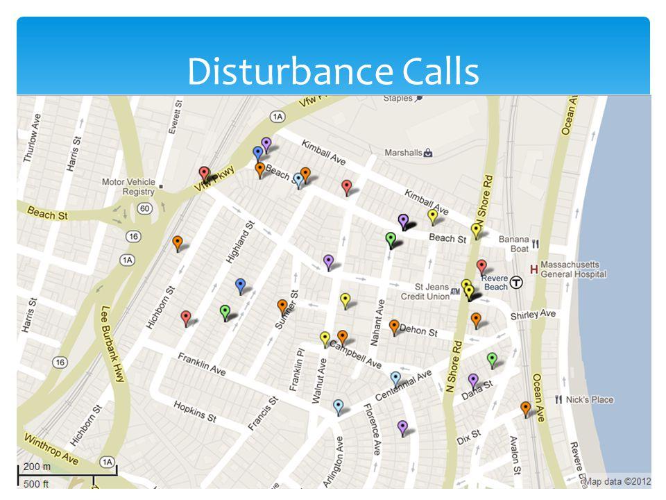 Disturbance Calls