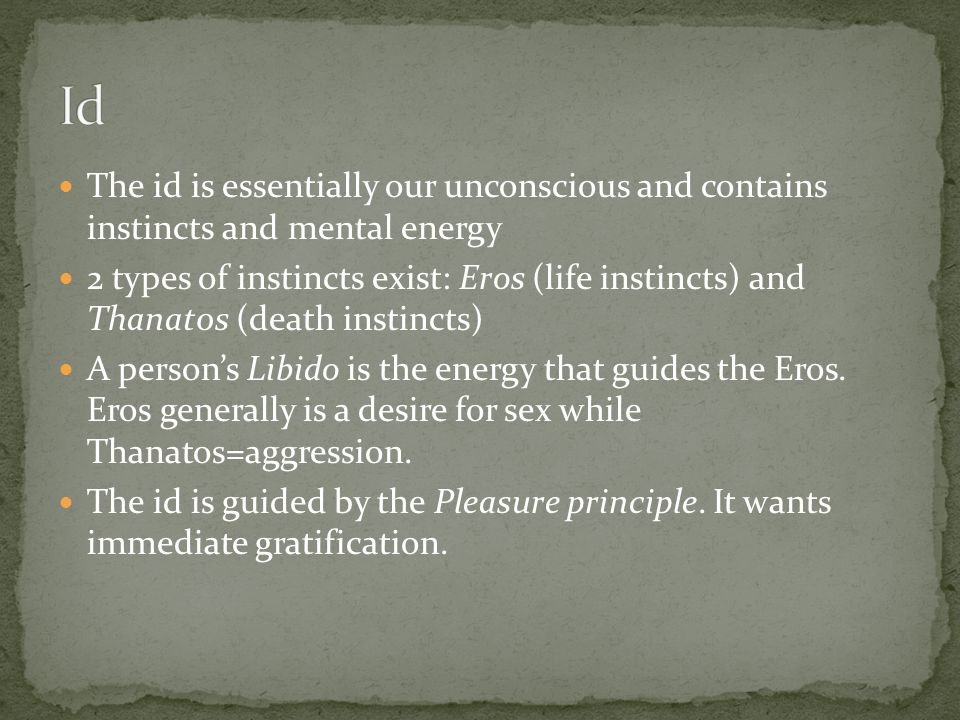 The ego lives in the conscious AND unconscious mind.