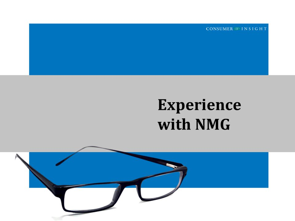 Customer Satisfaction Study Experience with NMG