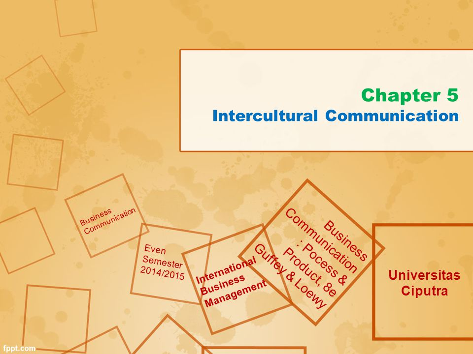 Increasing Importance of Intercultural Communication Globalization of markets Technological advancements General global interconnectivity Multicultural workforce