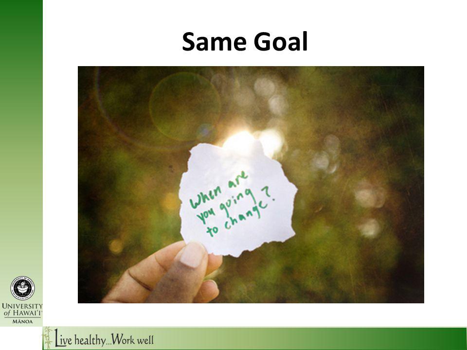Same Goal