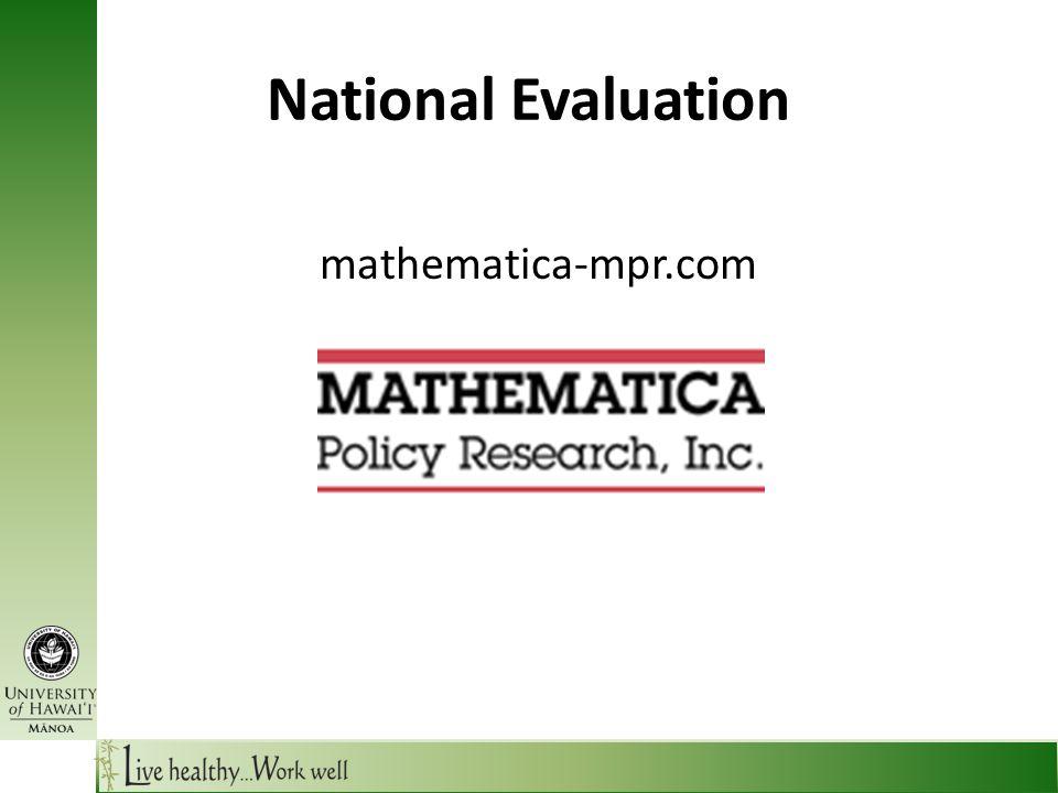 National Evaluation mathematica-mpr.com