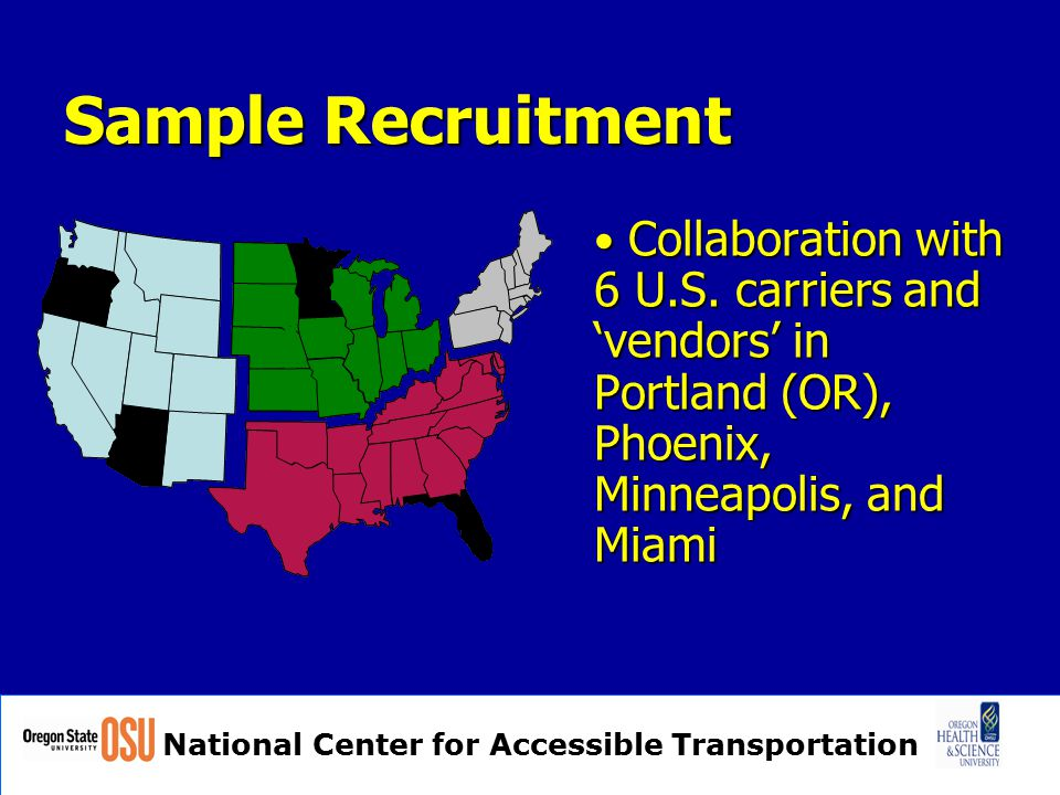 National Center for Accessible Transportation Questions or Comments? Thank you.