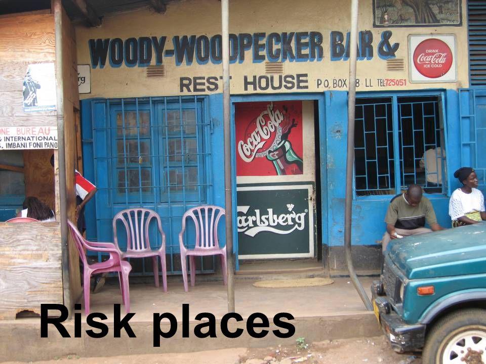 Risk places