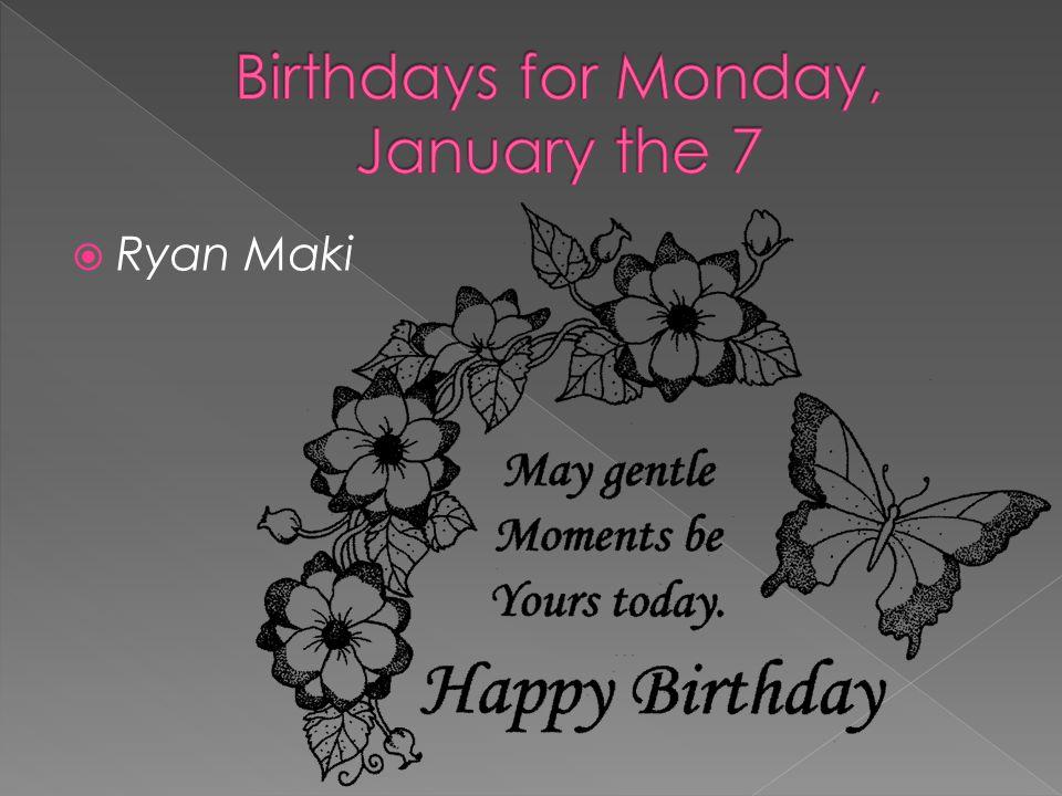  Ryan Maki
