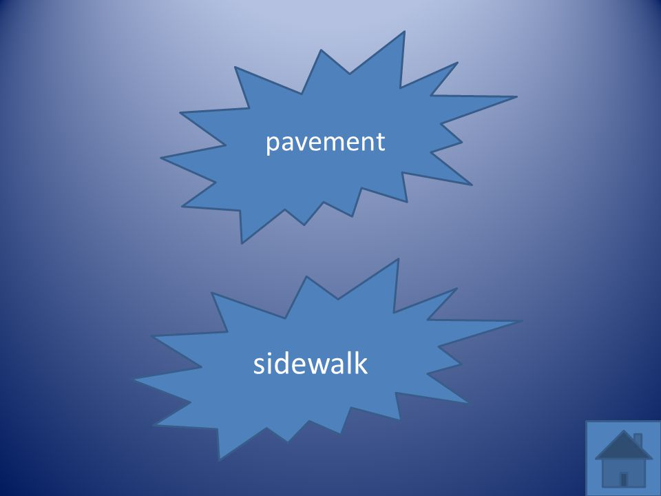 pavement sidewalk