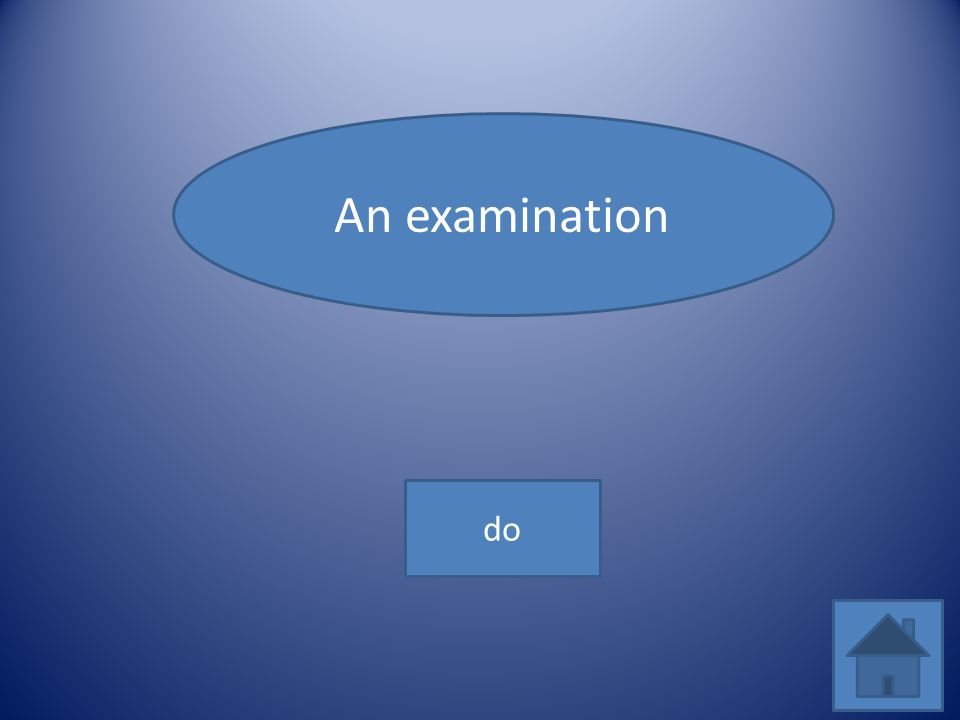An examination do