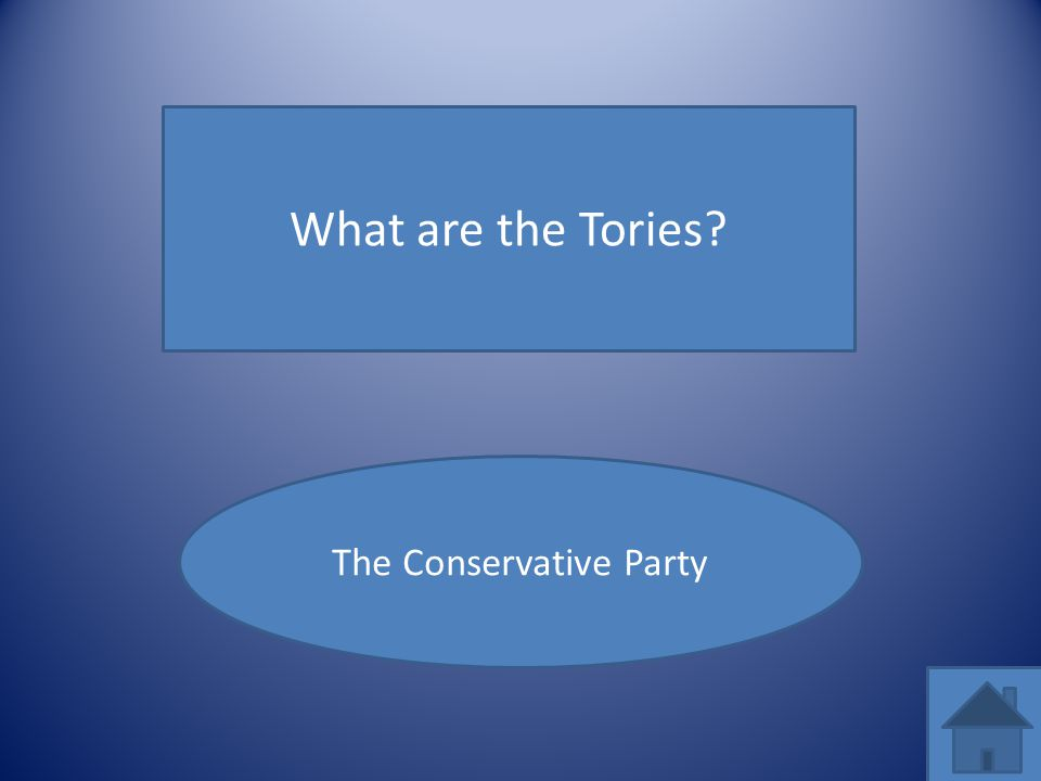 What are the Tories? The Conservative Party