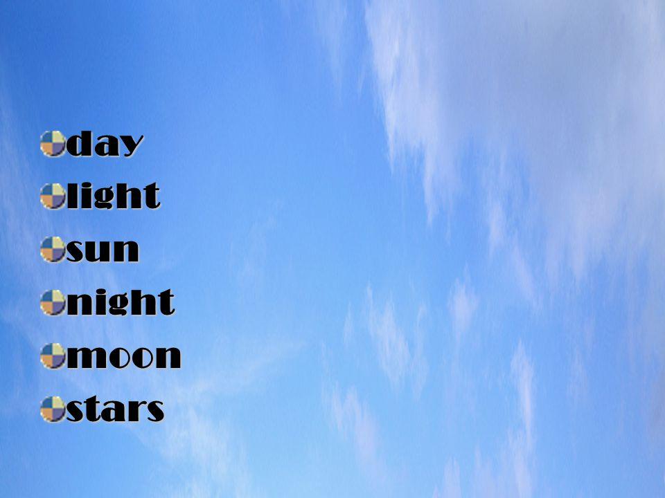 daylightsunnightmoonstars