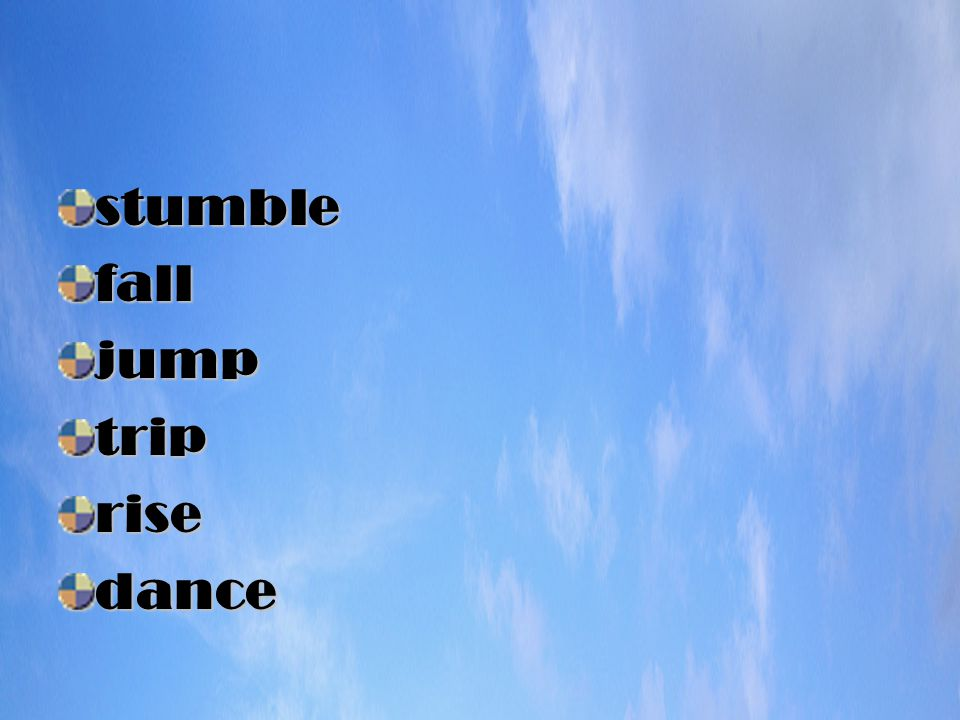 stumblefalljumptriprisedance
