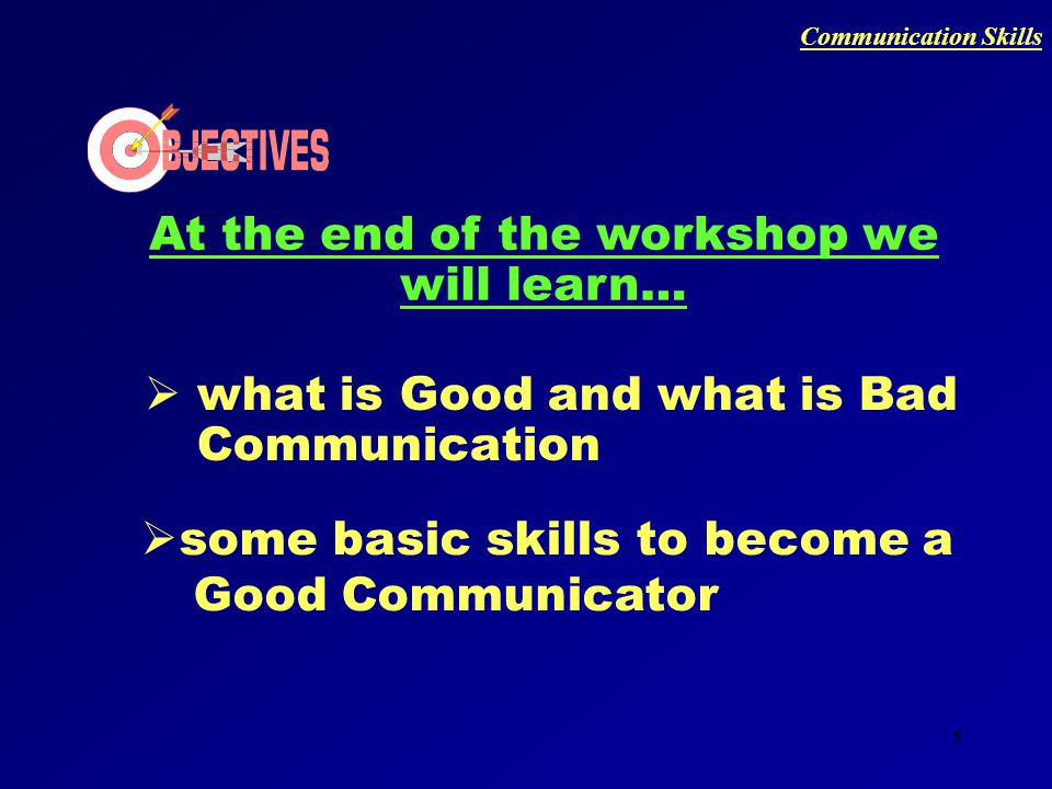 4 WHAT DO WE UNDERSTAND BY A SKILL Communication Skills