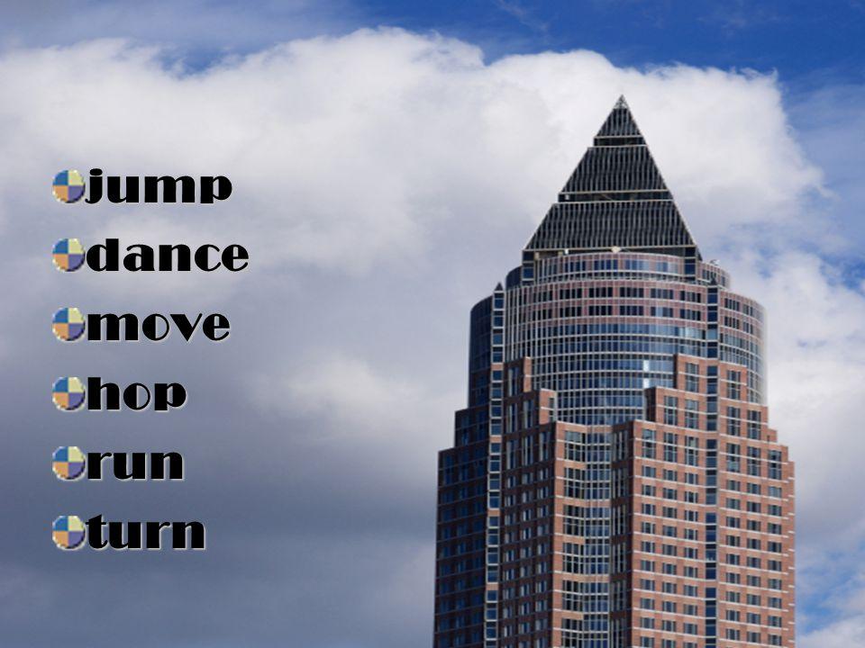 jump dance move hop run turn