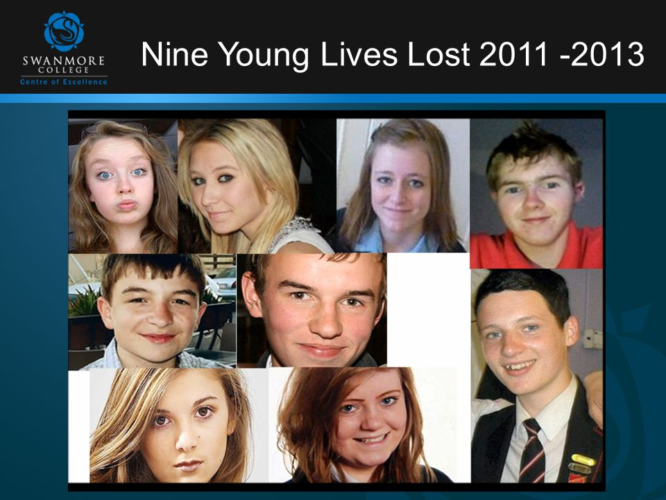 Nine Young Lives Lost 2011 -2013