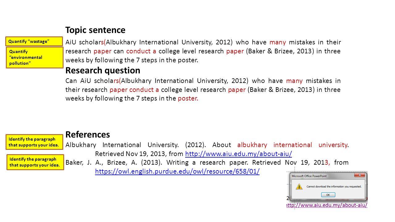 References Albukhary International University. (2012).