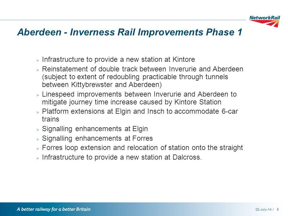 /02-July-146 Funds to deliver specific outcomes ► Scottish Stations Fund ► Scottish Strategic Rail Freight Fund ► Scottish Network Improvement Fund ► Future Network Development Fund ► Scotland Level Crossings Fund.