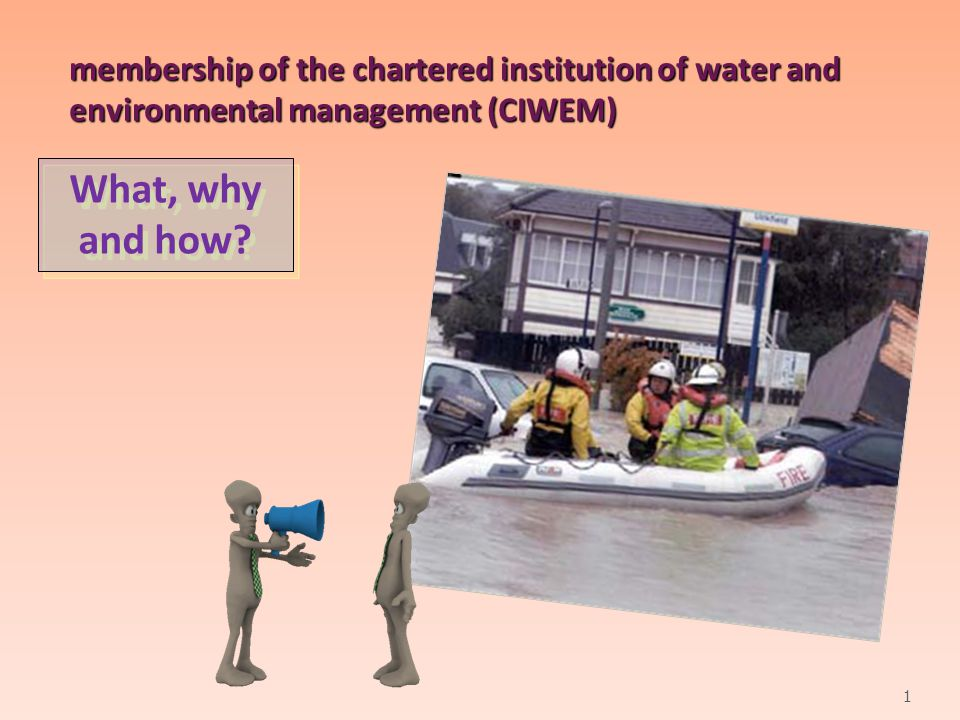 WHAT IS CIWEM.