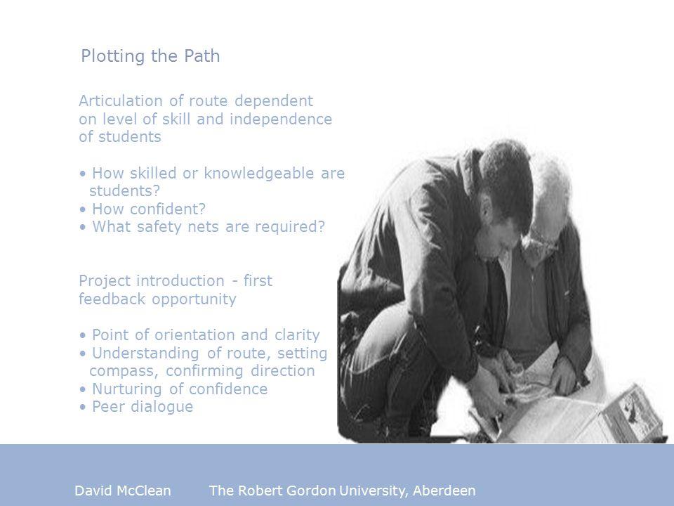 David McCleanThe Robert Gordon University, Aberdeen Kolb's Experiential Learning Cycle