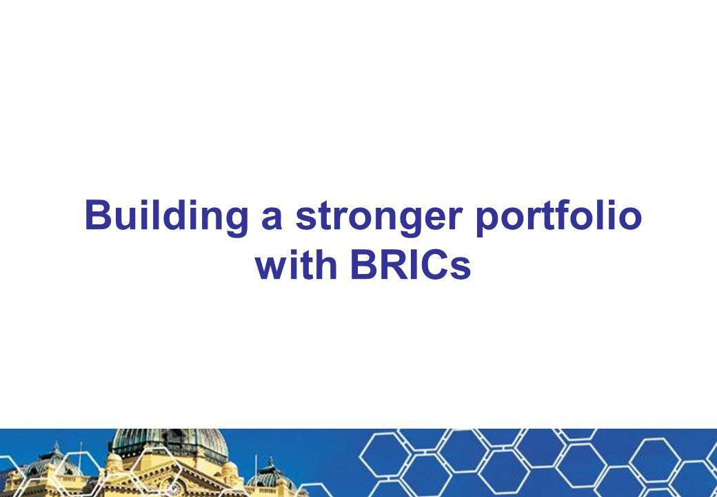 Building a stronger portfolio with BRICs