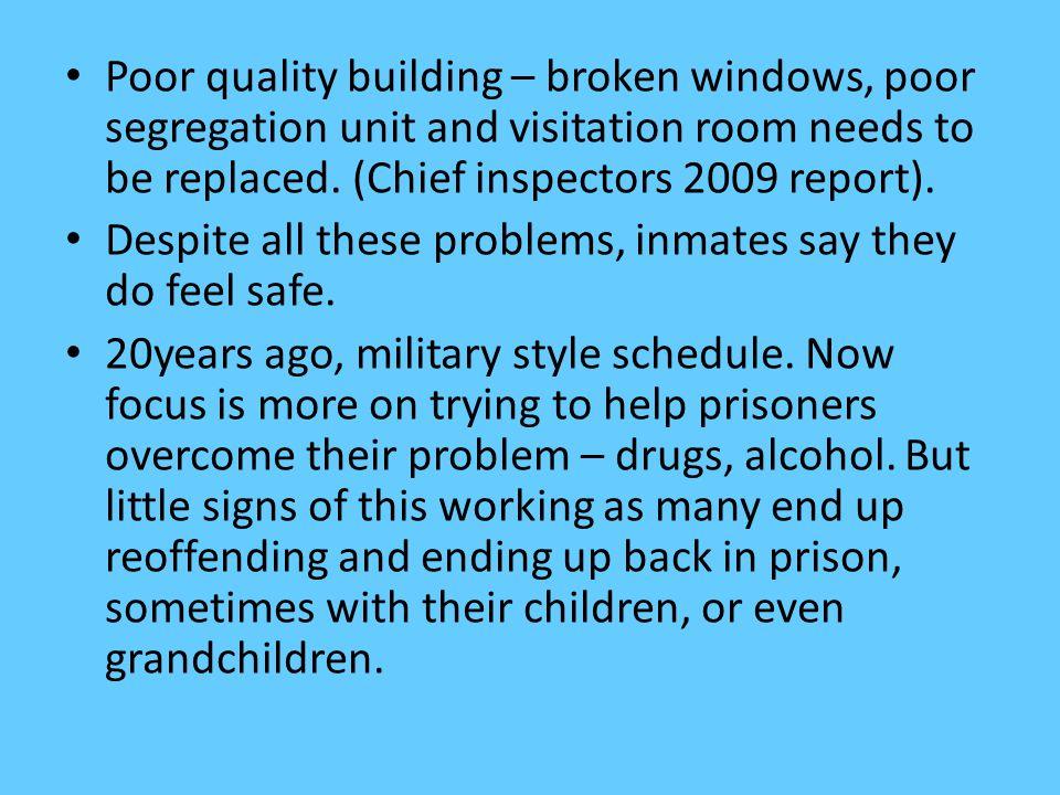 Rehabilitation.67% leave jail as regular drug users.
