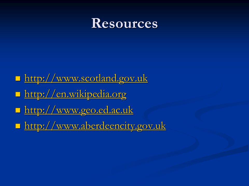 Resources http://www.scotland.gov.uk http://www.scotland.gov.uk http://www.scotland.gov.uk http://en.wikipedia.org http://en.wikipedia.org http://en.w