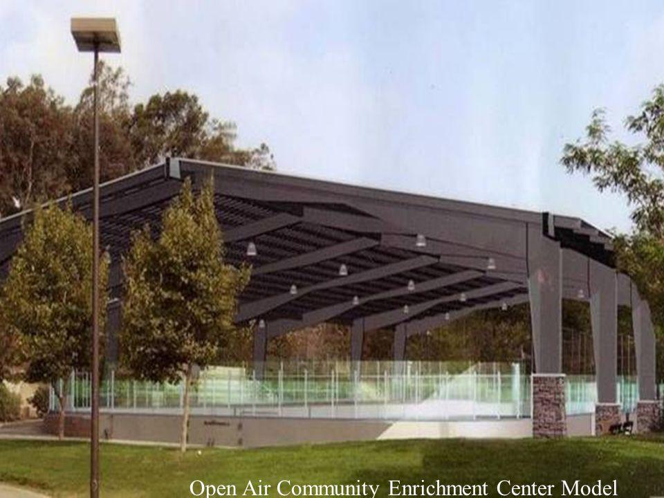 Open Air Pavilion Open Air Community Enrichment Center Model