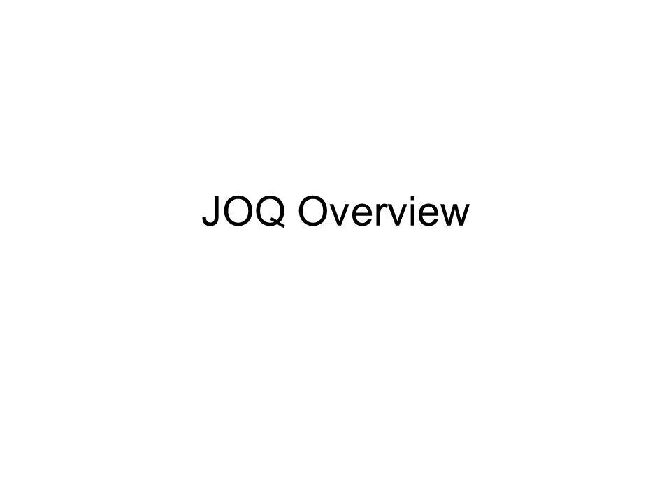 JOQ Overview