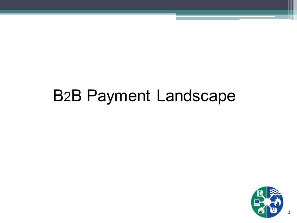 4 Current B 2 B Payment Landscape Getting a handle on the numbers can be difficult Percentage of B 2 B Check Payments: Source: 2010 AFP Electronic Payments Survey In 2004 this was 81% In 2007 this was 74%