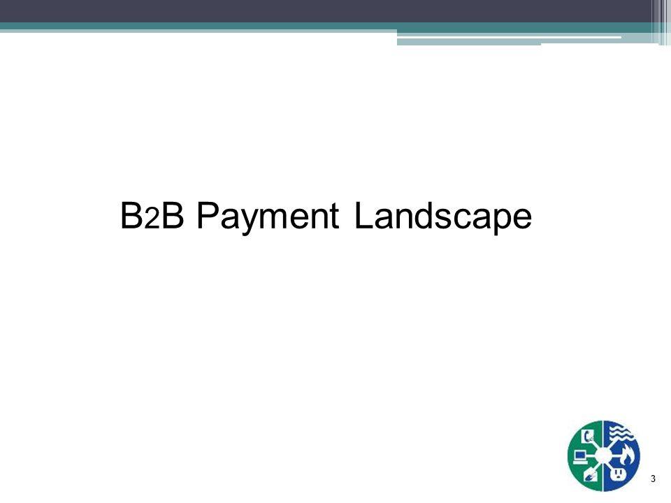 3 B 2 B Payment Landscape