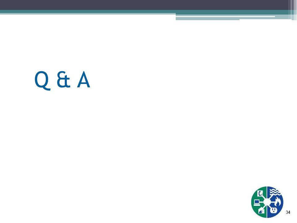 34 Q & A