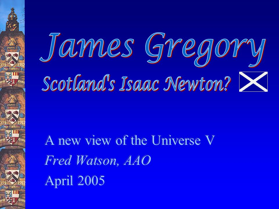 James Gregory Lens telescopes in the 1660s…