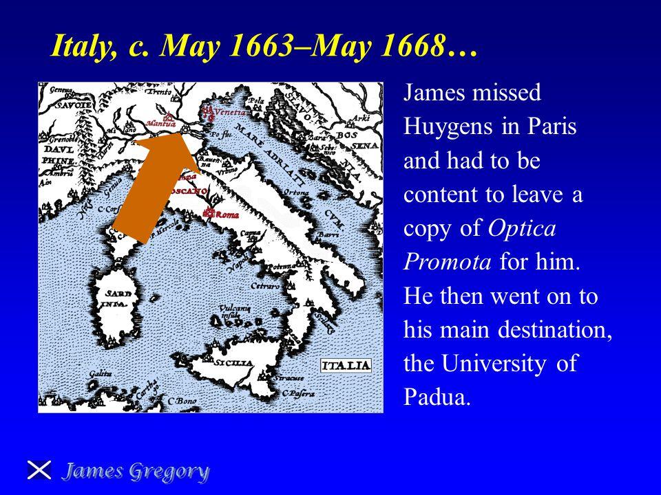 Padua… James Gregory