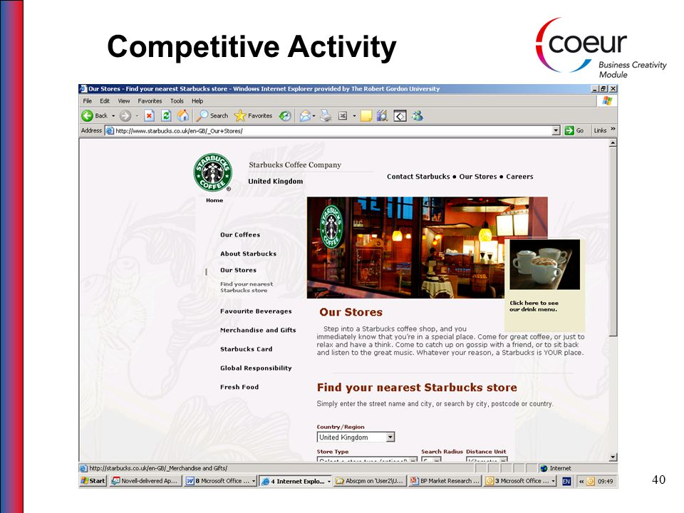 40 Competitive Activity