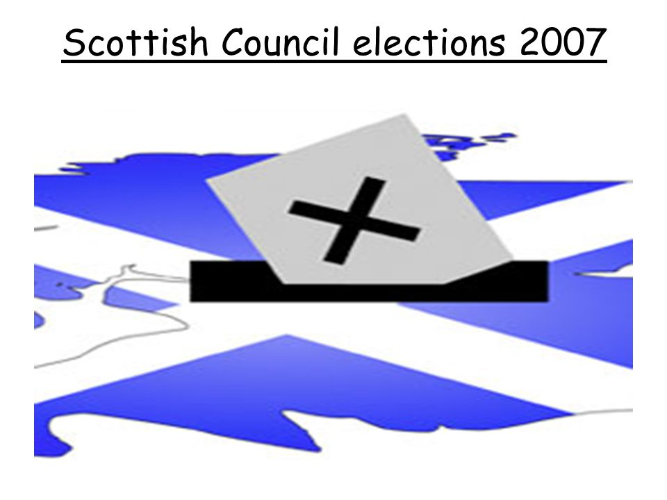 Scottish Council elections 2007