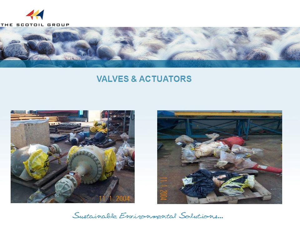 VALVES & ACTUATORS