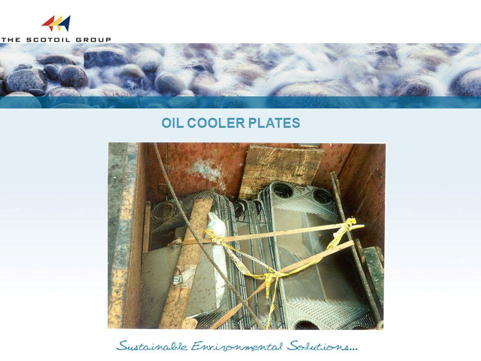OIL COOLER PLATES