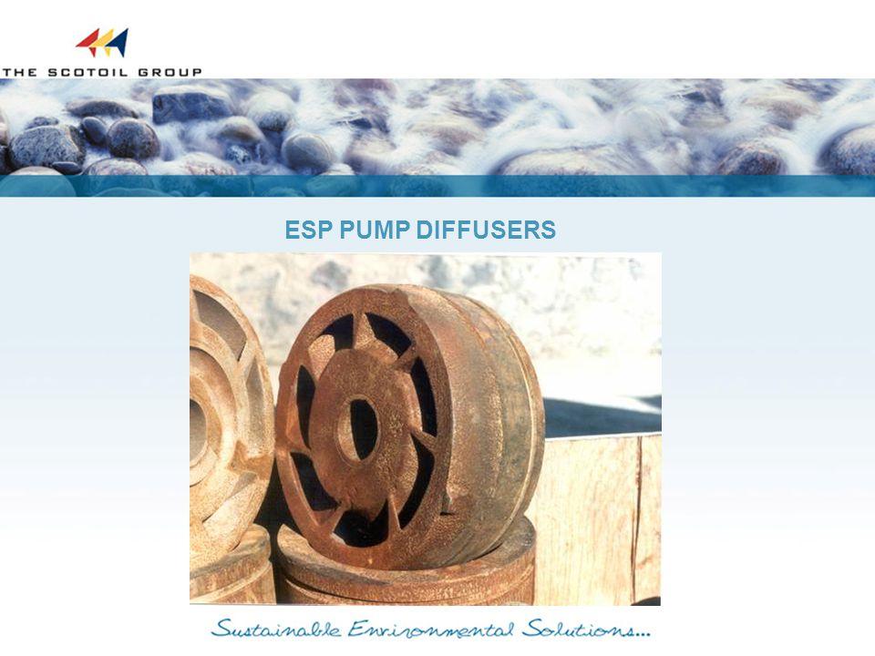 ESP PUMP DIFFUSERS