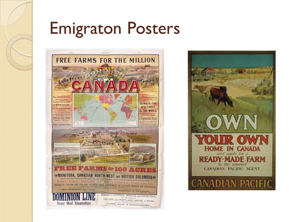 Emigraton Posters