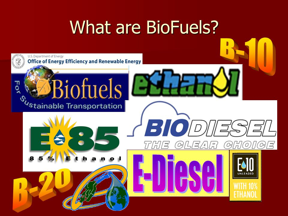 Recommendations Market Adoption Incentives Adopt the use of biodiesel blends in state fleets and other municipal fleets such as school buses Adopt the use of biodiesel blends in state fleets and other municipal fleets such as school buses Special monetary incentives for on-farm biodiesel consumption.