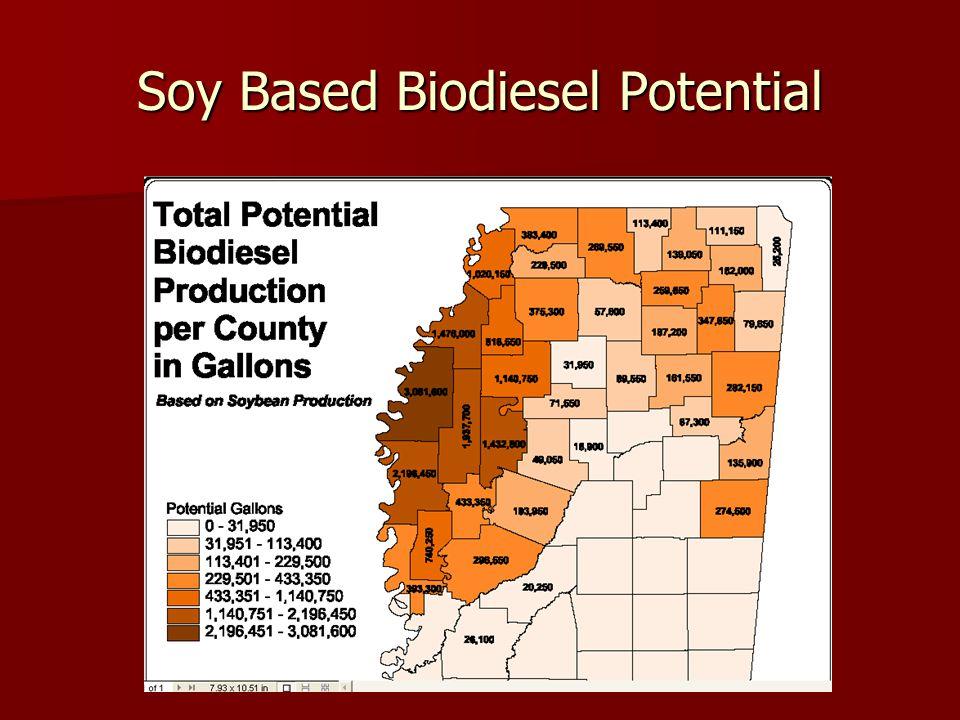 Soy Based Biodiesel Potential