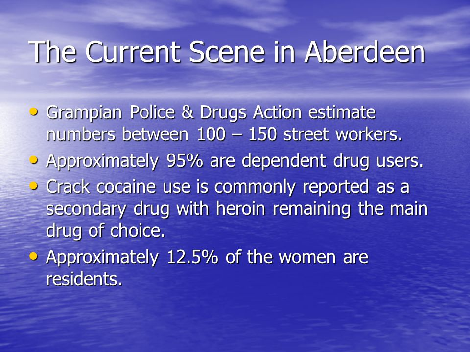 Drugs Action Services 'Keeping safe, stabilising and moving on' Stage 1 – Establishing trust and delivering immediate interventions Stage 2 - Improving awareness of problems and options for change Stage 3 - Supporting people to make and maintain change Street outreach Street outreach Drop in Drop in Individual counselling/follow-up Individual counselling/follow-up