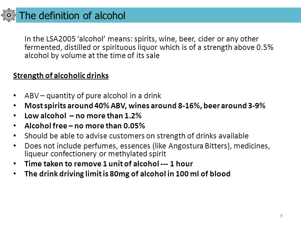27 It is an offence for a person, outside of licensed hours to: Sell or allow alcohol to be sold, on licensed premises Allow alcohol to be consumed on, or taken from licensed premises Sale, consumption, taking away of alcohol outside licensed hours It is not an offence to: Allow alcohol to be consumed within 15 minutes of the end of any period of licensed hours Allow alcohol to be taken from licensed premises at any time within 15 minutes of the end of licensed hours for off sales (10.00pm, if sold during that period and is taken in a sealed container ) Allow alcohol to be consumed on or taken from licensed premises outside licensed hours, if the person resides on the premises or is a guest of the person who resides there Sell or allow alcohol to be sold outside of licensed hours, if sold to a person who lives on the premises Allow alcohol to be consumed with a meal at any time within 30 minutes of the end of licensed hours, if sold during that period (at the same time as the meal for consumption with the meal ) Sell or allow alcohol to be sold outside of licensed hours, if sold to a person who is a trader or for supply to or on any premises occupied by the armed forces
