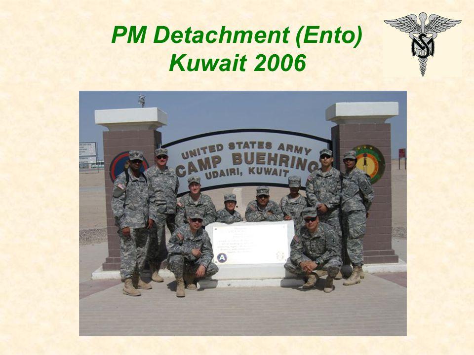PM Detachment (Ento) Kuwait 2006
