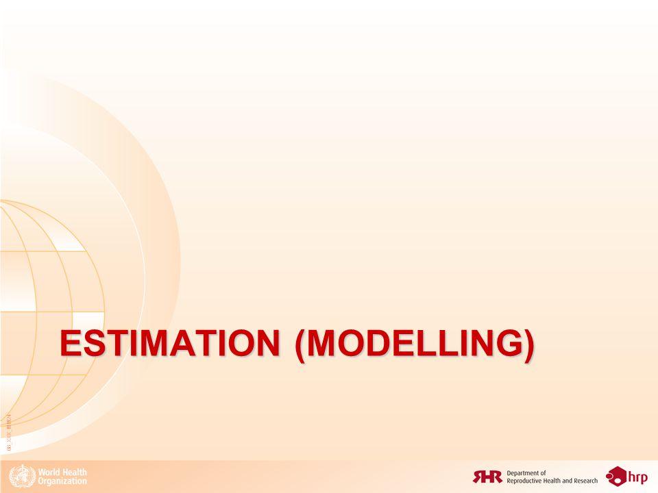 ESTIMATION (MODELLING) 08_XXX_MM24
