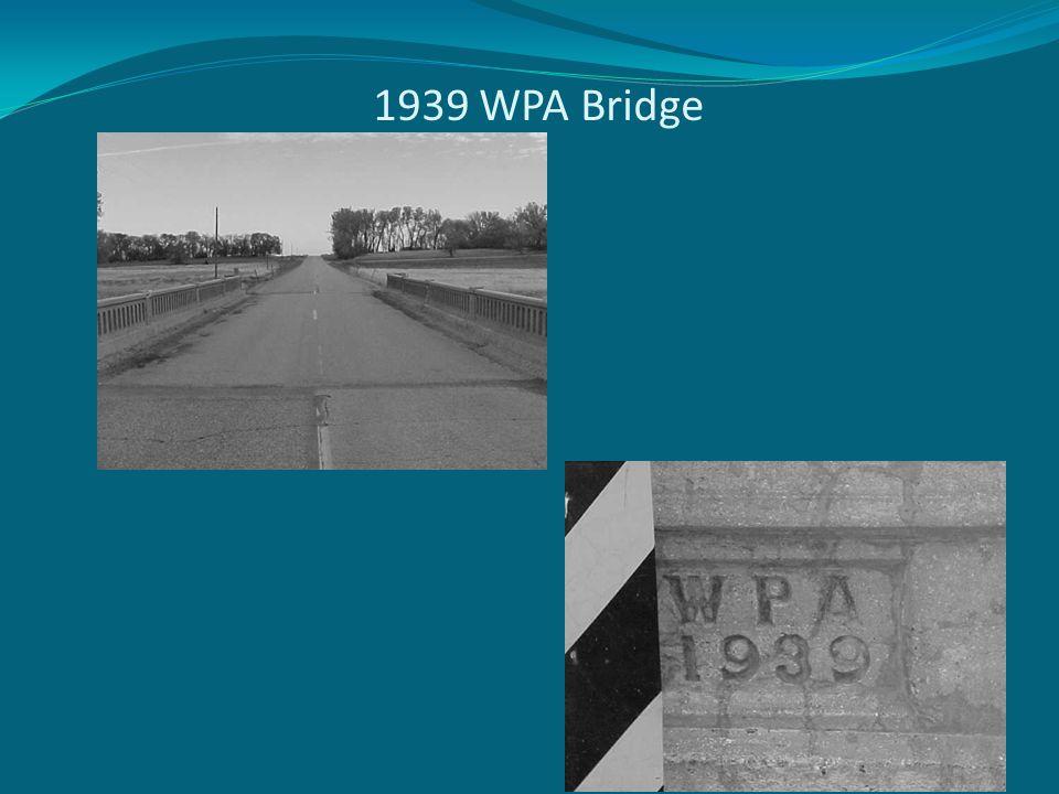1939 WPA Bridge