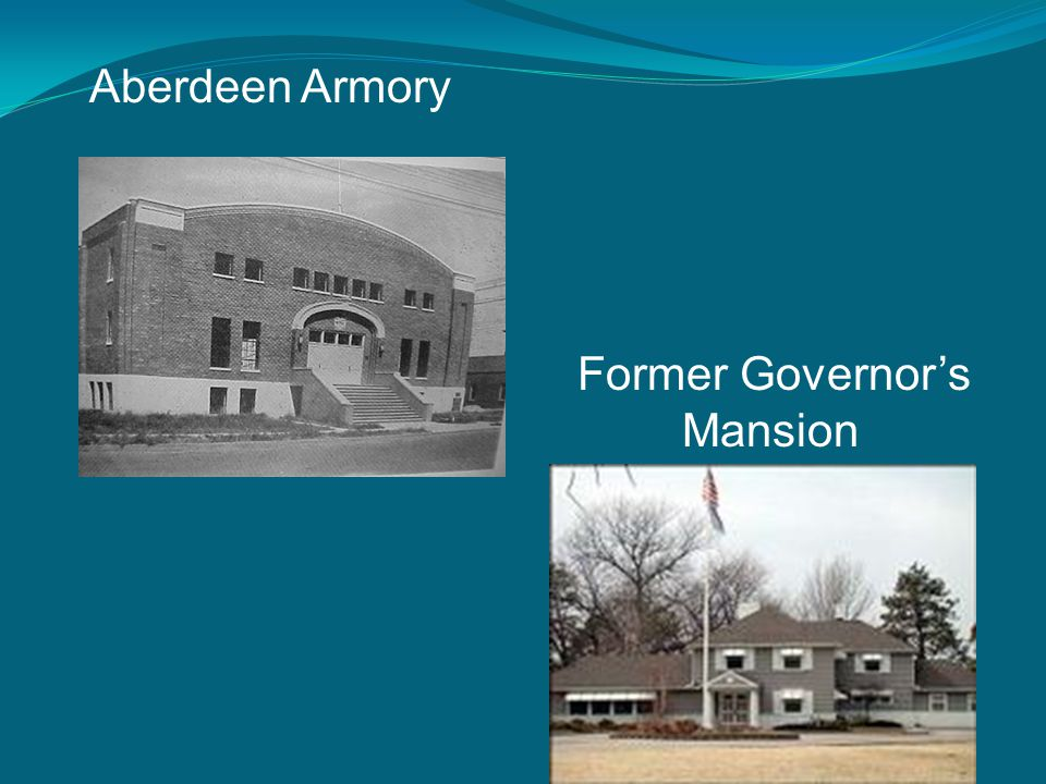 Aberdeen Armory Former Governor's Mansion