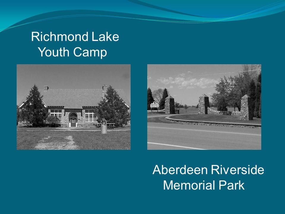 Richmond Lake Youth Camp Aberdeen Riverside Memorial Park