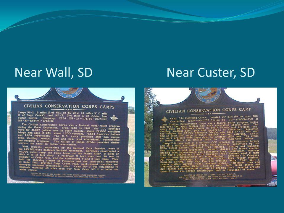 Near Wall, SD Near Custer, SD