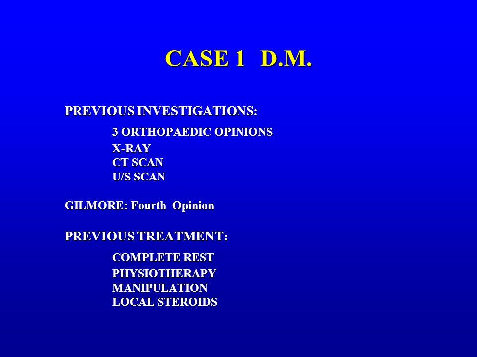 CASE 1D.M.