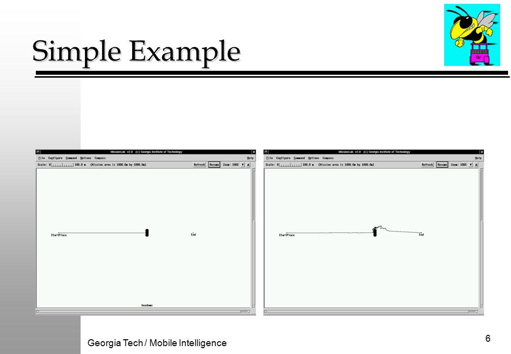 Georgia Tech / Mobile Intelligence 6 Simple Example