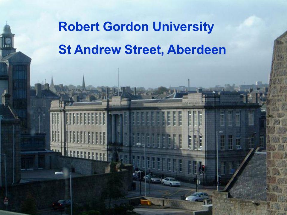 Robert Gordon University St Andrew Street, Aberdeen